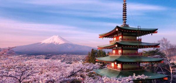 Посещение Японии