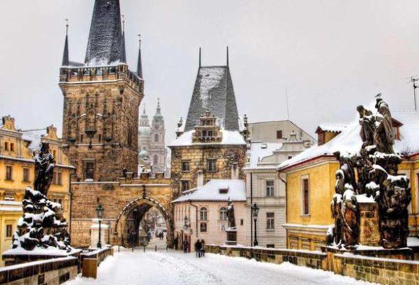 Прага в декабре