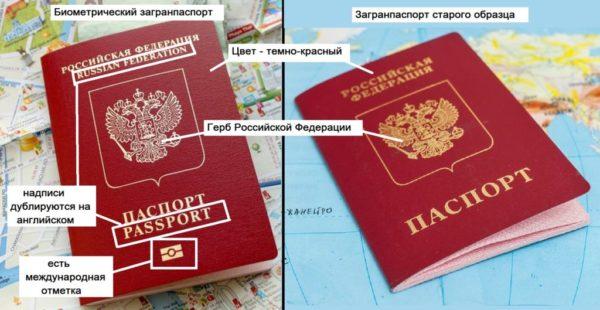 Разница между загранпаспортами старого и нового образца