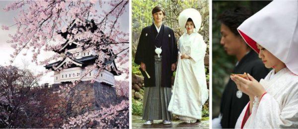 Свадебная церемония в Японии