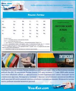 Языки Литвы
