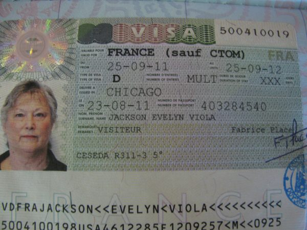 Как выглядит долгосрочная виза