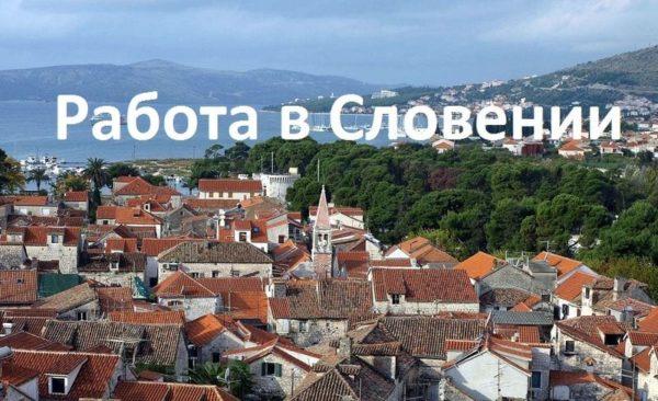 Работа в Словении для русских