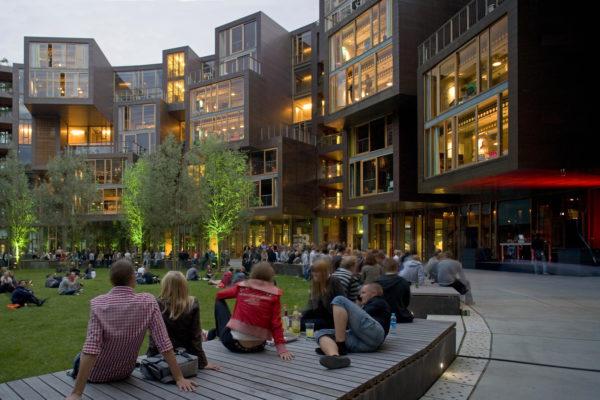 Tietgenkollegiet — общежитие будущего в Копенгагене
