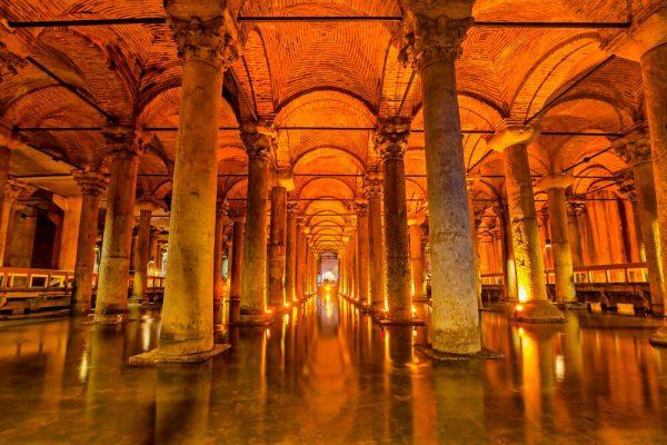 Цистерна Базилика. Стамбул.
